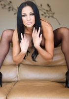 Audrey Bitoni Sexy In Black Stockings